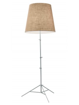 Lamp floor Pallucco GILDA design Enrico Franzolini version JUTE