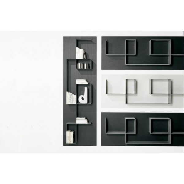 biblioth que mural tisettanta halifax square. Black Bedroom Furniture Sets. Home Design Ideas