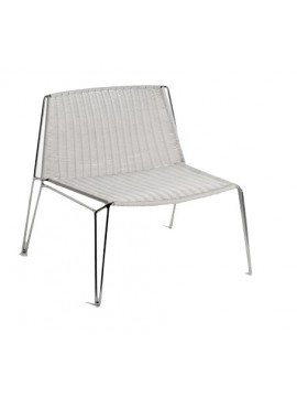 Chair Casprini PENELOPE weave lounge design Marcello Ziliani