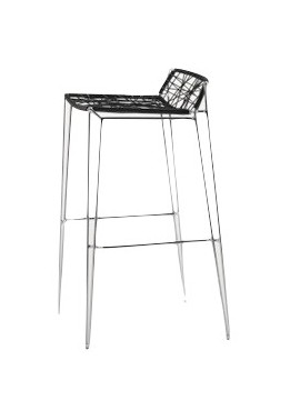 Bar stool Casprini Penelope Strip stool design Marcello Ziliani