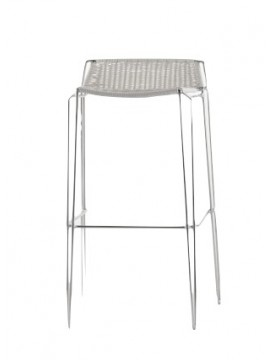 Bar stool Casprini Penelope weave sgabello design Marcello Ziliani