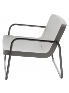 Armchair Serralunga Time Out design Rodolfo Dordoni