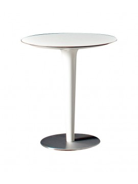 Table bar Serralunga Pile Up diameter 64 design Michel Boucquillon