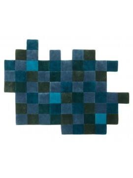 Rug Nanimarquina Do-Lo-Rez 2 blue design Ron Arad