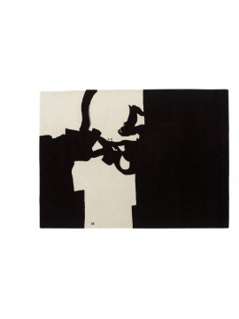 Rug Nanimarquina Collage 1966 design Eduardo Chillida