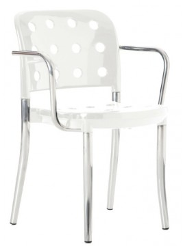 Chair with armrest Tisettanta Minni A2 design Antonio Citterio