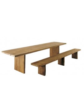 Table or bench Tisettanta Halifax Carpenter design Tisettanta LAB