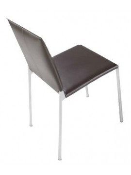 Chair leather Tisettanta Halifax Annette design Studio Sigla