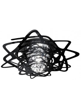 Lamp ceiling Slamp Aurora Mini black design Nigel Coates