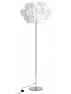 Lamp floor Slamp Fiorella white design Nigel Coates