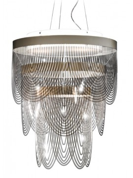 Lamp pendant Slamp Ceremony M Ø 55 cm design Bruno Rainaldi