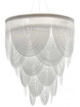 Lamp pendant Slamp Ceremony diameter 90 design Bruno Rainaldi