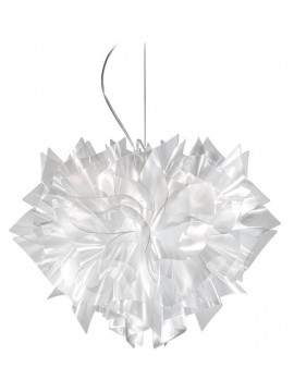 Lamp pendant Slamp Veli Suspension Prisma design Adriano Rachele