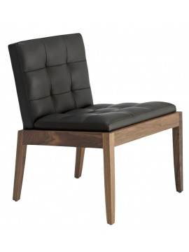 Armchair in leather Riva 1920 Bever design Matteo Thun