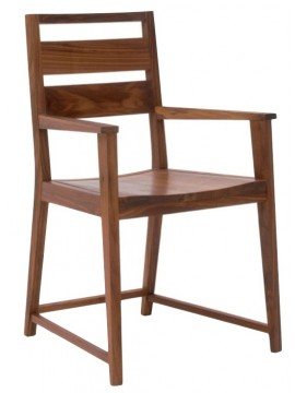 Chair with armrest Riva 1920 Chattanooga design Tom Kelley