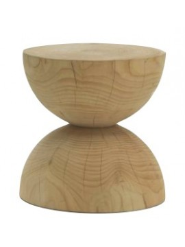 Stool / coffee table Riva 1920 Clessidra design Mario Botta