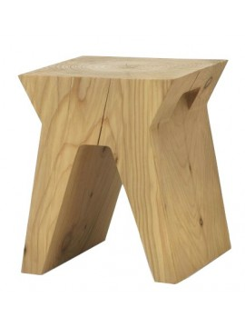 Stool and coffee table Riva 1920 Sid design David Dolcini
