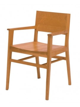 Chair with armrest Riva 1920 Tennessee design Tom Kelley