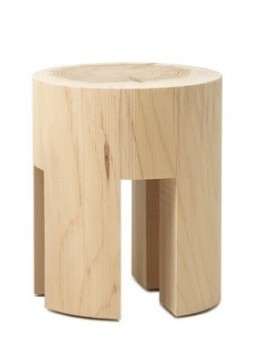 Stool / coffee table Riva 1920 Woody design Matteo Thun