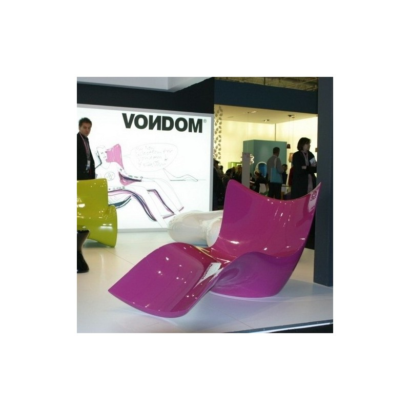 Chaise longue vondom surf design karim rashid for Chaise design eams