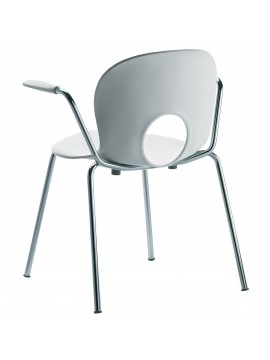 Chair with armrest Rexite Olivia design Raul Barbieri