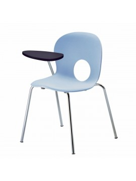 Chair with desk top Rexite Olivia design Raul Barbieri