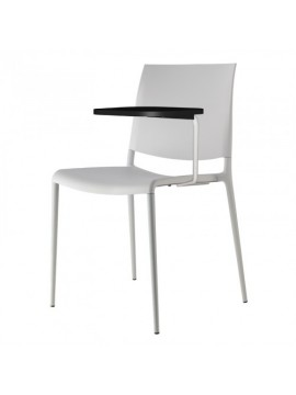 Chair with desk top Rexite Alexa design Raul Barbieri