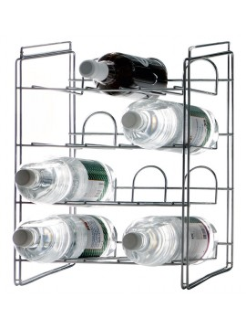 Bottle rack Rexite (Robots) Cantina design Enzo Mari