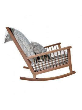 Rocking-chair Gervasoni Gray 09 design Paola Navone