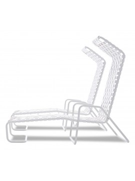 Chaise lounge Gervasoni InOut 881 FW design Paola Navone
