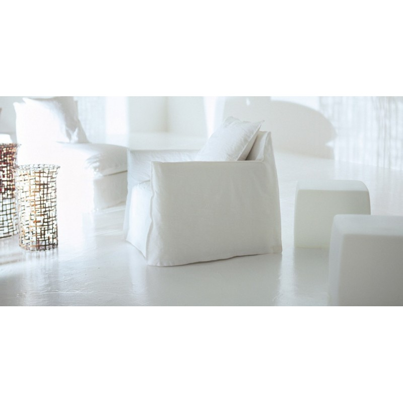 Fauteuil gervasoni ghost 05 design paola navone for Paola navone ghost