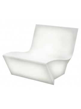 Fauteuil version lumineuse Slide design Kami Ichi design Marc Sadler
