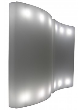 Luminous screen Slide design Gio Wind design Giò Colonna Romano