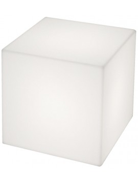 Lamp and luminous cube Slide design Cubo