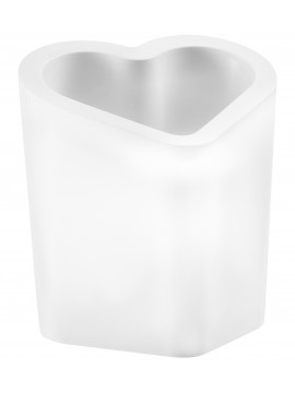 Vase pot luminous Slide design Mon Amour Pot Light design Alex Sacchetti