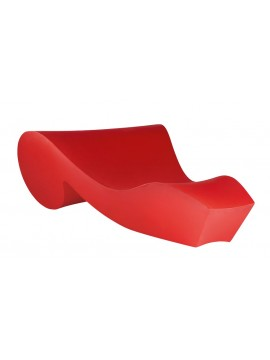 Chaise lounge Slide design Rococò design Gianni Arnaudo