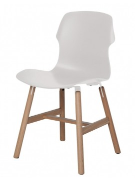 Chair Casamania Stereo Wood design Luca Nichetto