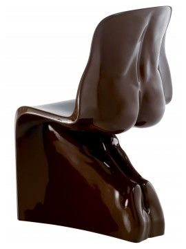 Chair lacquered Casamania Him design Fabio Novembre