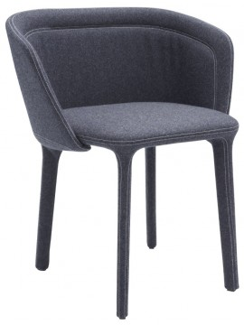 Fauteuil Casamania Lepel design Luca Nichetto - version sans quilting