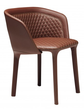 Armchair Casamania Lepel design Luca Nichetto - version quilted