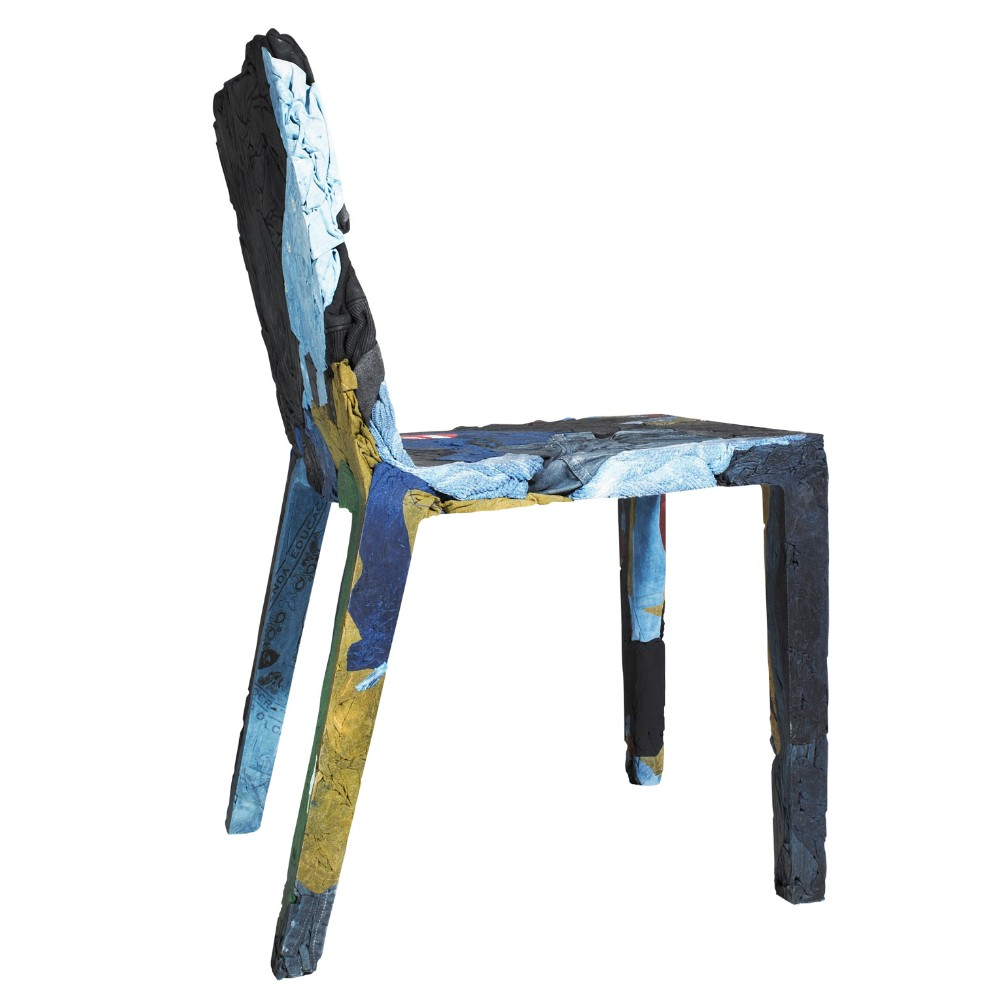 Chair In Recycled Jeans Casamania Rememberme Design Tobias