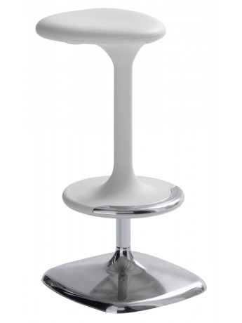 Stool with adjustable height Casamania Kant design Karim Rashid