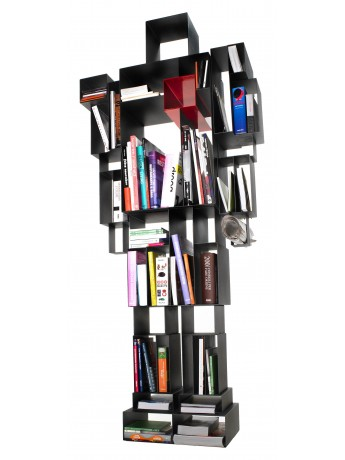 Bookshelf Casamania Robox design Fabio Novembre
