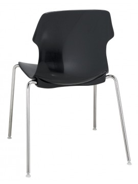 Chair with adjustable feet Casamania Stereo design Luca Nichetto