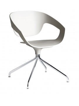 Swivel chair Casamania Vad design Luca Nichetto