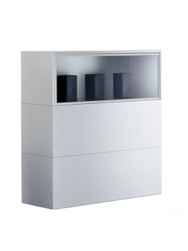 Storage unit Mdf Italia Newcase design Bettoni Fattorini