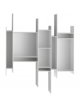 Wall bookshelves Mdf Italia Randomito design Neuland