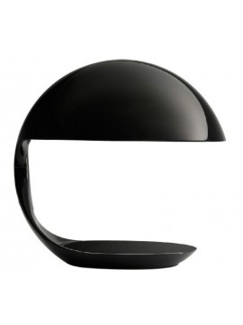 Lampe de table Martinelli Luce Cobra 629/NE design Elio Martinelli