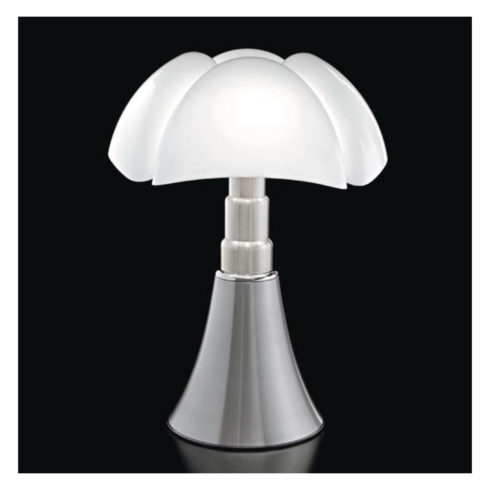 lampe de table martinelli luce pipistrello 620 al design gae aulenti. Black Bedroom Furniture Sets. Home Design Ideas