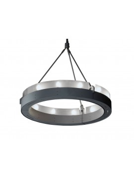 Lamp pendant Martinelli Luce Circular Glass design  Emiliana Martinelli e Camillo Pediconi
